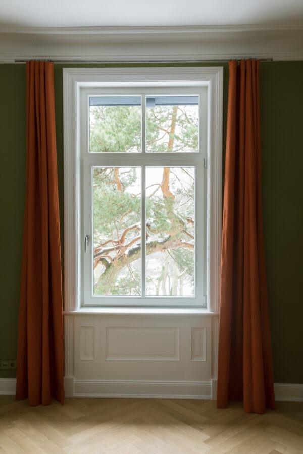 Holzfenster nach einer Altbausanierung